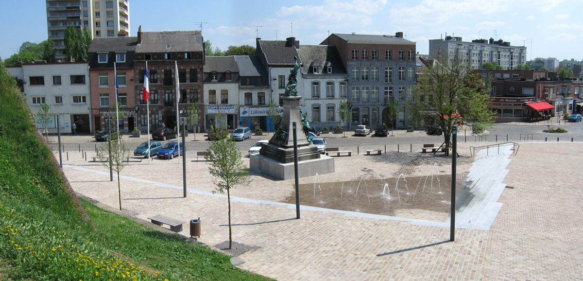 Place Vauban Maubeuge - Philippe Thomas